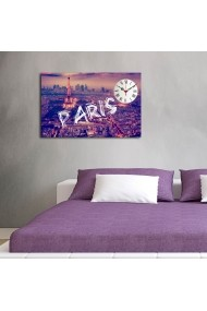 Ceas decorativ de perete Clockity ASR-248CTY1639 Multicolor