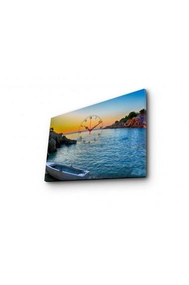 Ceas decorativ de perete Clockity ASR-248CTY1640 Multicolor