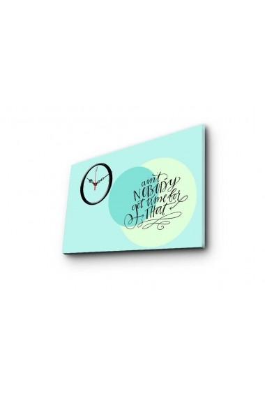Ceas decorativ de perete Clockity ASR-248CTY1643 Multicolor