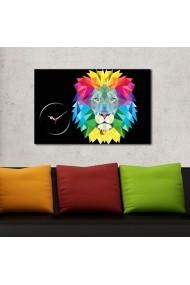 Ceas decorativ de perete Clockity ASR-248CTY1645 Multicolor