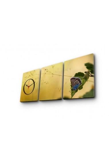 Ceas decorativ de perete(3 piese) Clockity ASR-248CTY1675 Multicolor
