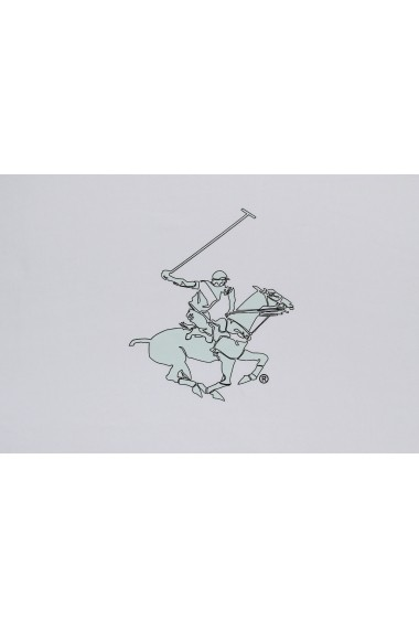 Prosop de plaja Beverly Hills Polo Club ASR-310BHP1301 Alb