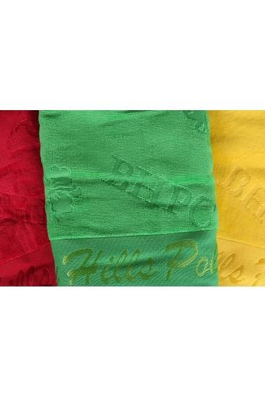 Set 3 prosoape pentru maini Beverly Hills Polo Club ASR-310BHP8259 Multicolor