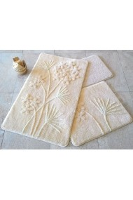Set 3 covorase de baie Chilai Home by Alessia ASR-351ALS2043 Crem