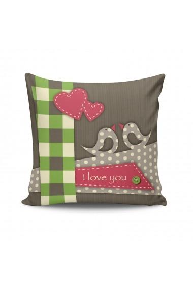 Perna decorativa Kissy 422KSY2120 Multicolor