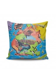 Perna decorativa Kissy 422KSY2123 Multicolor