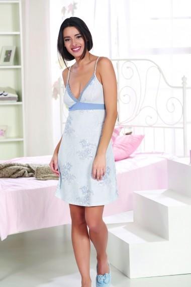 Rochie de noapte Marie Claire ASR-517MCL5008 Albastru