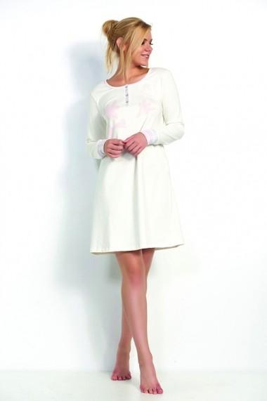 Rochie de noapte Marie Claire ASR-517MCL5010 Alb