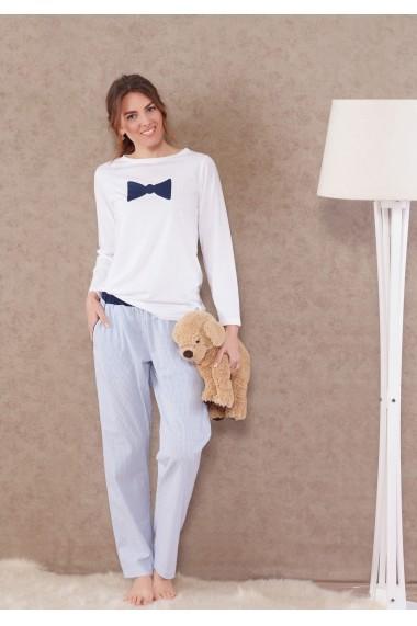 Pijama(2 articole) Marie Claire ASR-517MCL9005 Albastru