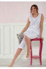 Pijama(2 articole) Marie Claire ASR-517MCL9006 Alb