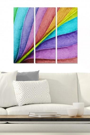 Tablou decorativ (set 3 piese) Bianca 553BNC1239 multicolor