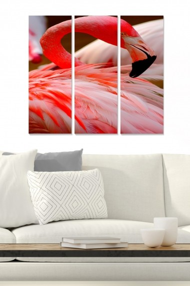 Tablou decorativ (set 3 piese) Bianca 553BNC1242 multicolor