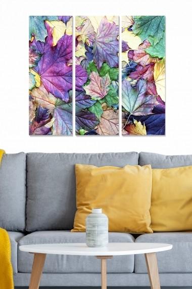 Tablou decorativ (set 3 piese) Bianca 553BNC1269 multicolor