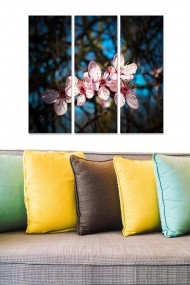 Tablou decorativ (set 3 piese) Bianca 553BNC1321 multicolor