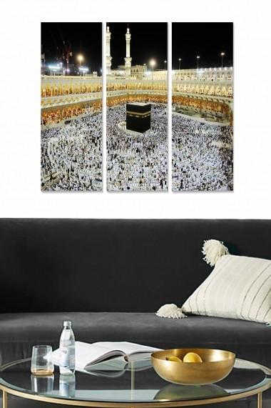 Tablou decorativ (set 3 piese) Bianca 553BNC1356 multicolor