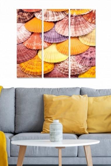 Tablou decorativ (set 3 piese) Bianca 553BNC1364 multicolor