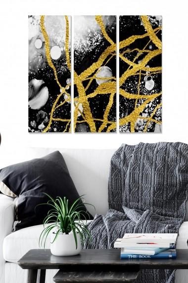 Tablou decorativ (set 3 piese) Bianca 553BNC1395 multicolor