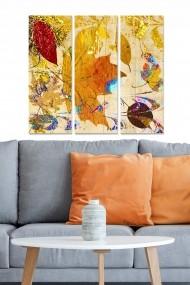 Tablou decorativ (set 3 piese) Bianca 553BNC1491 multicolor