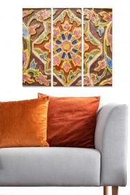 Tablou decorativ (set 3 piese) Bianca 553BNC1534 multicolor