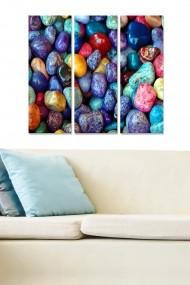 Tablou decorativ (set 3 piese) Bianca 553BNC1590 multicolor