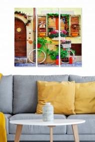 Tablou decorativ (set 3 piese) Bianca 553BNC1603 multicolor