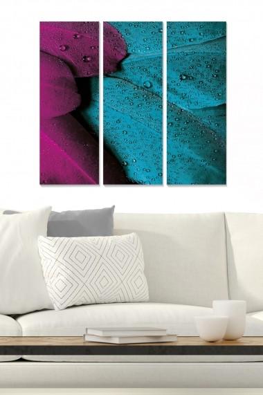 Tablou decorativ (set 3 piese) Bianca 553BNC1625 multicolor