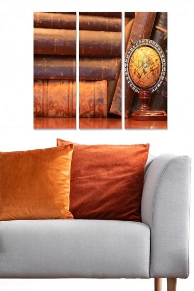 Tablou decorativ (set 3 piese) Bianca 553BNC1783 multicolor
