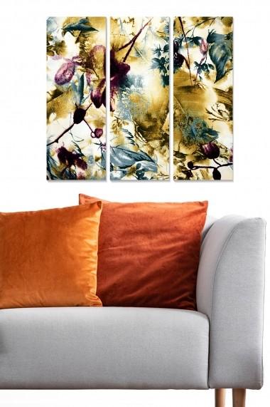 Tablou decorativ (set 3 piese) Bianca 553BNC1788 multicolor