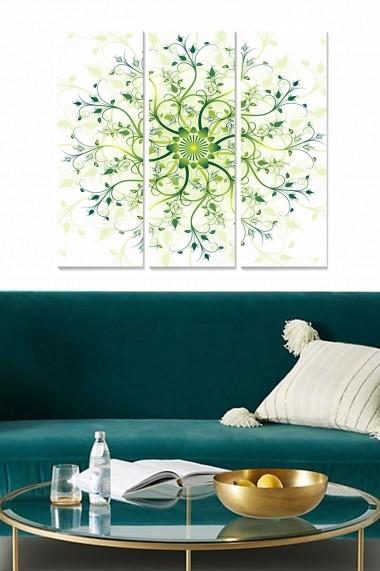 Tablou decorativ (set 3 piese) Bianca 553BNC1793 multicolor