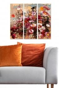 Tablou decorativ (set 3 piese) Bianca 553BNC1804 multicolor