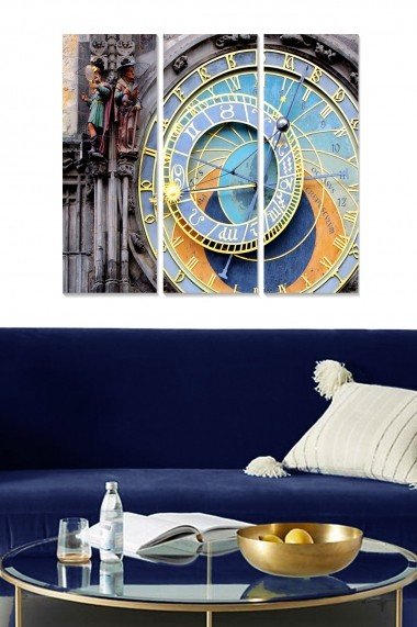 Tablou decorativ (set 3 piese) Bianca 553BNC1852 multicolor