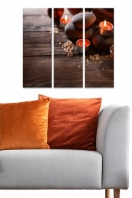 Tablou decorativ (set 3 piese) Bianca 553BNC1903 multicolor