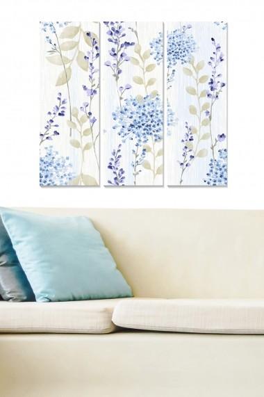 Tablou decorativ (set 3 piese) Bianca 553BNC2117 multicolor