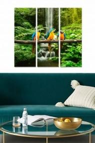 Tablou decorativ (set 3 piese) Bianca 553BNC2137 multicolor