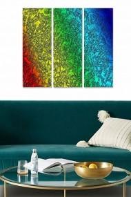 Tablou decorativ (set 3 piese) Bianca 553BNC2143 multicolor