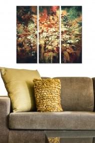 Tablou decorativ (set 3 piese) Bianca 553BNC2173 multicolor