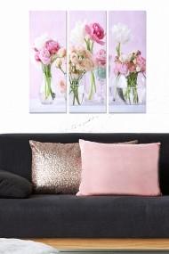 Tablou decorativ (set 3 piese) Bianca 553BNC2191 multicolor