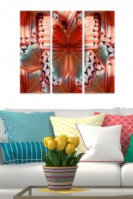 Tablou decorativ (set 3 piese) Bianca 553BNC2201 multicolor