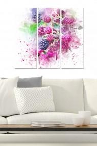 Tablou decorativ (set 3 piese) Bianca 553BNC2210 multicolor