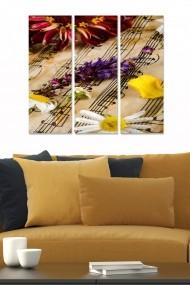 Tablou decorativ (set 3 piese) Bianca 553BNC2236 multicolor