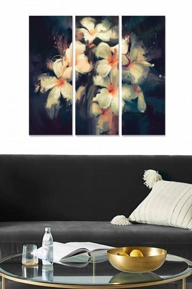 Tablou decorativ (set 3 piese) Bianca 553BNC2358 multicolor