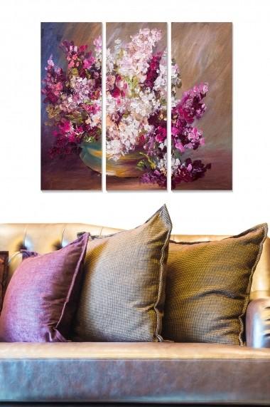 Tablou decorativ (set 3 piese) Bianca 553BNC2371 multicolor