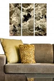 Tablou decorativ (set 3 piese) Bianca 553BNC2405 multicolor