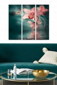 Tablou decorativ (set 3 piese) Bianca 553BNC2427 multicolor