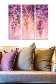Tablou decorativ (set 3 piese) Bianca 553BNC2434 multicolor