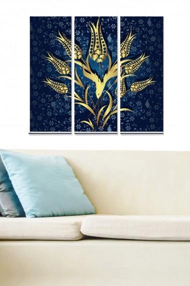 Tablou decorativ (set 3 piese) Bianca 553BNC2504 multicolor