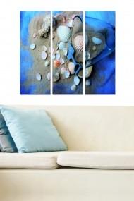 Tablou decorativ (set 3 piese) Bianca 553BNC2537 multicolor