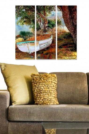 Tablou decorativ (set 3 piese) Bianca 553BNC2601 multicolor