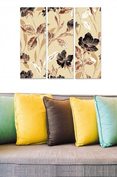 Tablou decorativ (set 3 piese) Bianca 553BNC2665 multicolor