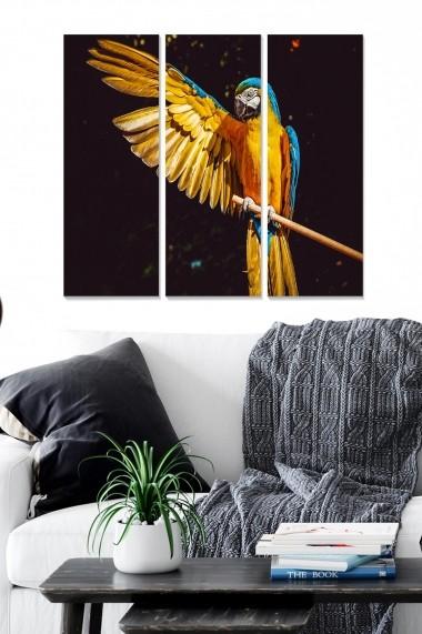 Tablou decorativ (set 3 piese) Bianca 553BNC2705 multicolor
